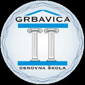 """JU OŠ """"Grbavica II"""" Logo"""